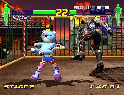 Fighting Vipers 2 - Recensione Dreamcast - Gamesurf it