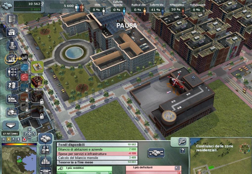 gioco citylife