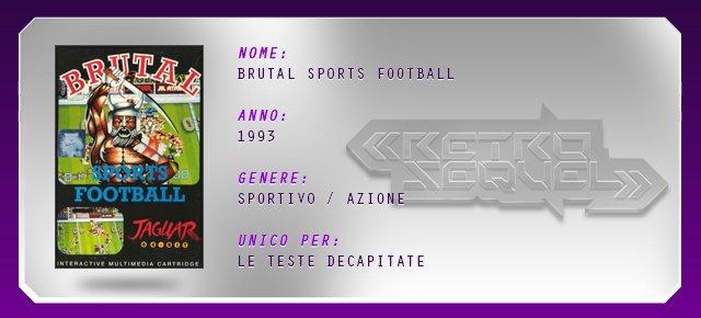 Retro Sequel: Brutal Sports Football - Immagine 5