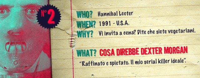GIMME FIVE: Dexter VS 5 Famosi Serial Killer - Immagine 2