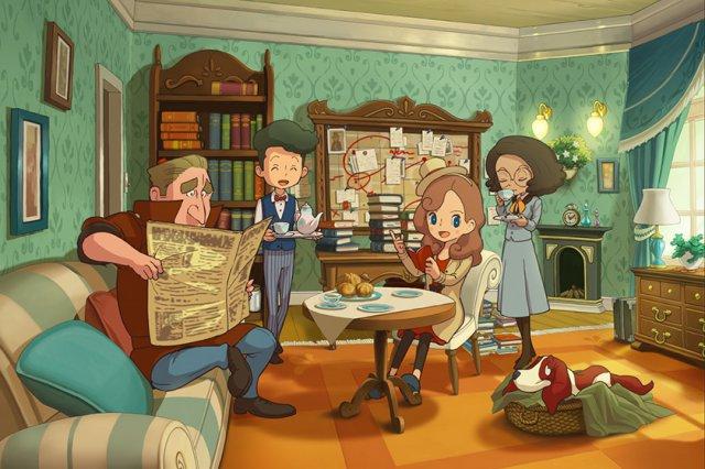 Layton's Mystery Journey: Katrielle e il Complotto dei Milionari - Immagine 1