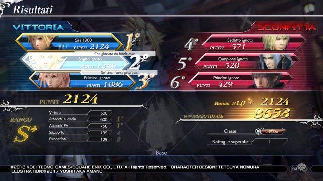 Dissidia: Final Fantasy NT - Immagine 1