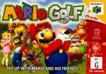 Copertina Mario Golf - N64