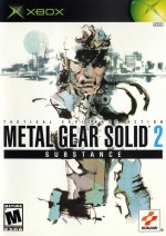 Copertina Metal Gear Solid 2: Substance - Xbox
