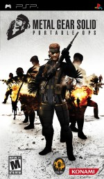 Copertina Metal Gear Solid: Portable Ops - PSP