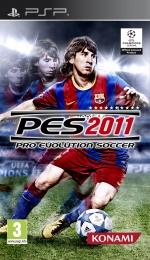 Copertina Pro Evolution Soccer 2011 - PSP