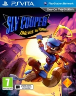 Copertina Sly Cooper Thieves in Time - PS Vita