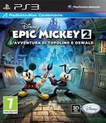 Copertina Disney Epic Mickey 2: L'Avventura di Topolino e Oswald - PS3