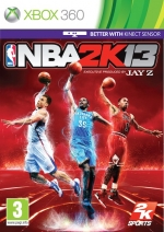 Copertina NBA 2K13 - Xbox 360