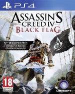 Copertina Assassin's Creed IV: Black Flag - PS4