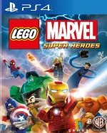 Copertina LEGO Marvel Super Heroes - PS4