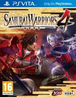 Copertina Samurai Warriors 4 - PS Vita