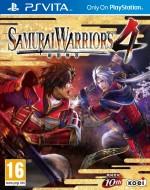 Copertina Samurai Warriors 4 - PS Vita