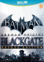 Copertina Batman: Arkham Origins Blackgate - Deluxe Edition - Wii U