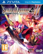 Copertina Samurai Warriors 4-II - PS Vita