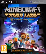 Copertina Minecraft Story Mode - Episode 1: The Order of Stone - PS3