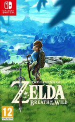 Copertina The Legend of Zelda: Breath of the Wild - Switch