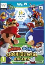Copertina Mario & Sonic ai Giochi Olimpici di Rio 2016 - Wii U