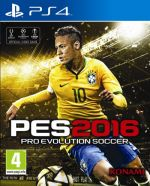 Copertina Pro Evolution Soccer 2016 - PS4