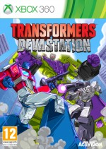 Copertina Transformers: Devastation - Xbox 360