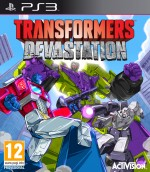Copertina Transformers: Devastation - PS3