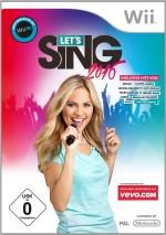 Copertina Let's Sing 2016 - Wii U
