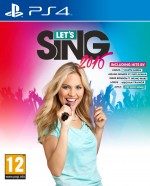 Copertina Let's Sing 2016 - PS4