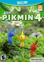Copertina Pikmin 4 - Wii U