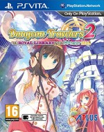 Copertina Dungeon Travelers 2: The Royal Library & The Monster Seal - PS Vita