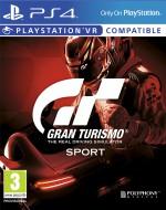 Copertina Gran Turismo: Sport - PS4
