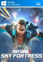Copertina Just Cause 3 - Sky Fortress DLC - PC