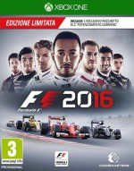 Copertina F1 2016 - Xbox One