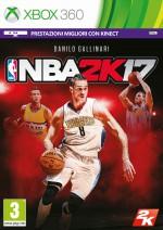 Copertina NBA 2K17 - Xbox 360