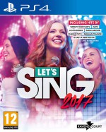 Copertina Let's Sing 2017 - PS4