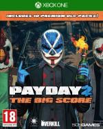 Copertina Payday 2 The Big Score - Xbox One