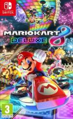 Copertina Mario Kart 8 Deluxe - Switch