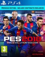 Copertina PES 2018 - PS4