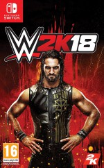 Copertina WWE 2K18 - Switch