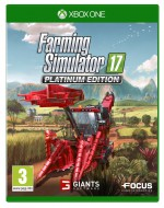 Copertina Farming Simulator 17 Platinum Edition - Xbox One