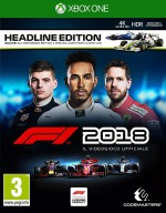 Copertina F1 2018 - Xbox One