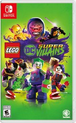 Copertina LEGO DC Super-villains - Switch