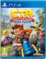 Copertina Crash Team Racing Nitro-Fueled - PS4