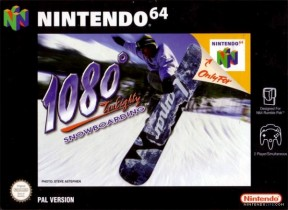 1080° Snowboarding N64 Cover