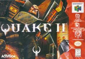 Quake II N64 Cover