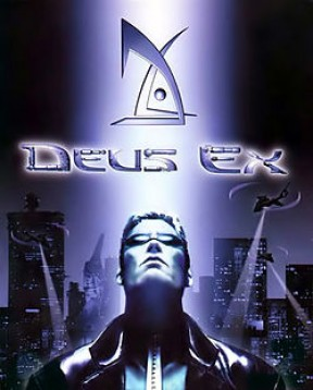 Deus Ex PC Cover