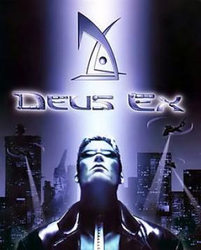 Deus Ex PC Cover