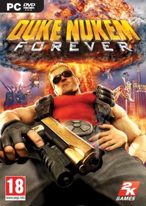 Duke Nukem Forever PC Cover