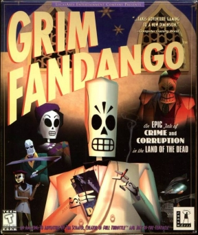 Grim Fandango PC Cover