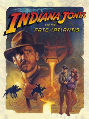 Indiana Jones and The Fate of Atlantis PC Cover