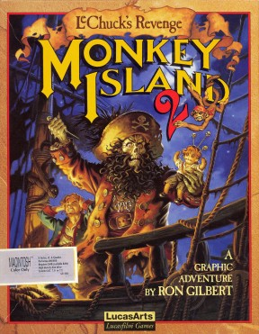 Monkey Island 2: LeChuck's Revenge PC Cover